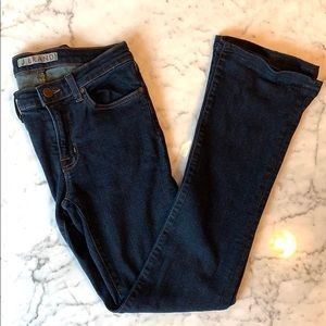 J brand skinny flare jeans. Size 27 low rise